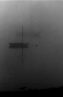 Boats in the Fog