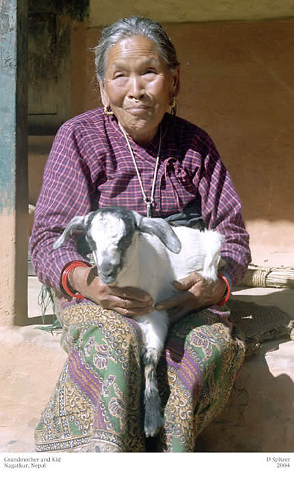 Grandmother with Kid